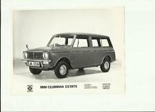 "British LEYLAND MINI CLUBMAN ESTATE PRESS PHOTO ""Car Brochure"" correlati"