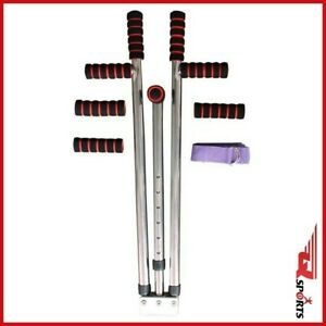 Q Sports Stainless Steel Adjustable Heavy Duty 3 Bar Leg Stretcher Boxing MMA
