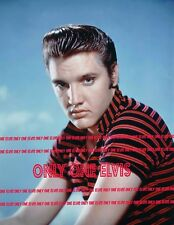ELVIS PRESLEY 1956 8x10 Photo STUNNING EARLY PUBLICITY SHOT