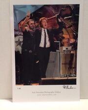 RINGO STARR/McCARTNEY Concert 7-7-10 RCMH LTD. ED. GALLERY PRINT 1/100 SIGNED!