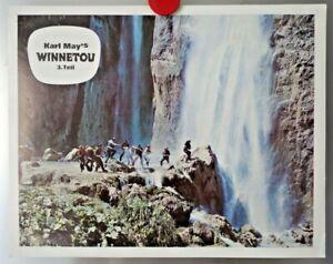 Filmplakat Winnetou Karl May - Original Filmposter, Werbeplakat D1.6