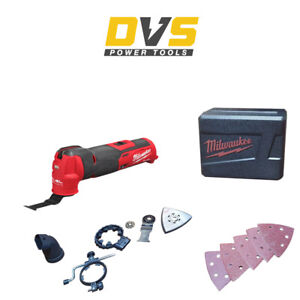 Milwaukee M12FMT-0 Cordless 12V Fuel Multi Tool Body Only with Accessories
