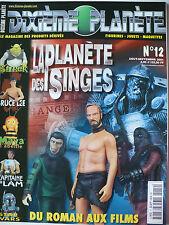 Magazine (très bel état) - Dixième planète 12 (spécial La planète des singes)