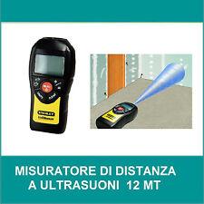 STANLEY MISURATORE ULTRASUONI 12mt CALCOLO AREA VOLUM METRO ELETTRONICO 0-77-018