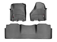 WeatherTech FloorLiner for Dodge RAM 2500/3500 - Mega Cab - 2012-2017 - Black