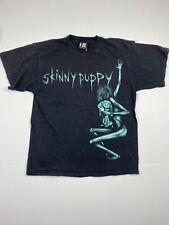 Vtg 2000 Skinny Puppy Shirt Sz Sz M Black Giant Tag Alt Rock Vintage