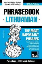 English-Lithuanian Phrasebook & 3000-Word Topical Vocabulary   Taranov, Andrey