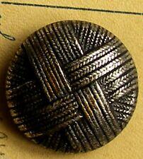 COLLECTION MERCERIE 1 boutons metal  bombé 18 mm☺Old buttton