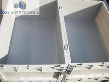 Kasten LTF 6220 VB 01 grau Schäfer Lagerkiste 2 St verstärkter Boden 600x400x220