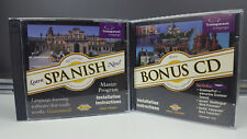 Transparent Language: Learn Spanish Now! w/ Bonus CD NEW AND SEALED PC CD-ROM