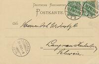 """DT.REICH """"DORTMUND / 1"""" K2 a. Kab.-Postkarte nach """"LANGNAU / (BERN)"""" Schweiz"""