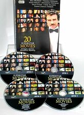 20 Superstar Movies 4 DVDS Box New! Anthony Hopkins, Nicole Kidman, Bill Murray,