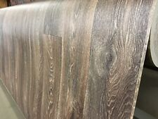 PVC Bodenbelag Holz-Optik Planken nussbaum rustikal 400 cm x 2 Meter  REST 19203