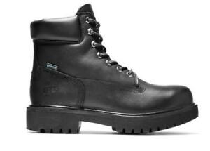 NEW TIMBERLAND PRO Men's Direct Attach 6 in. Waterproof Work Boots (Size 12 M)