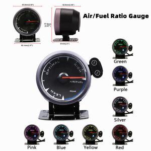 "2.5"" LED Air Fuel Ratio Gauge Narrowband Pointer O2 A/FR Meter Monitor"