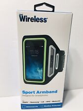Wireless Sport Armband Reflective Universal Size Fits Cell Phone Holder Arm NEW