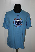 Adidas MLB New York City Football Club Blue Tee Shirt XL