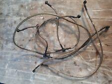 Dinli quadzilla 450 2013 Full set of braided brake pipes hoses breaking quad