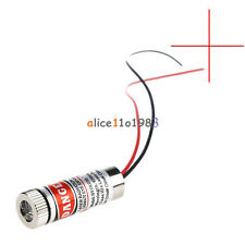 Red Cross Line Laser Focusable 5mW 650nm Module Focus Adjustable laser Head M138