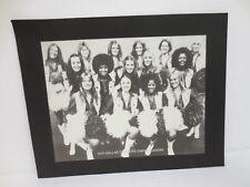 DALLAS COWBOYS CHEERLEADERS PICTURE 8.5X11 VINTAGE RETRO VTG 1974 NFL FOOTBALL