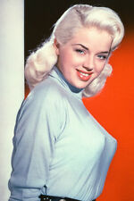 Diana Dors Busty In Tight Sweater Color 11x17 Mini Poster