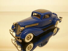 BROOKLIN MODELS 133 BUICK 96 S SPORTS COUPE 1934 - BLUE 1:43 GOOD CONDITION - 50