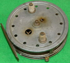 """A Vintage J.W. Young Perfection Flickem 3 ¾"""" alloy centrepin trotting reel"""