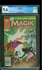 Magik 1 CGC 9.6 NM+ Storm & Belasco app John Buscema cover Marvel 1983