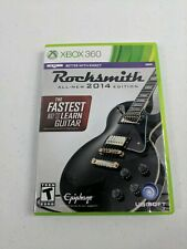 Rocksmith 2014 Edition (Microsoft Xbox 360) NO MANUAL