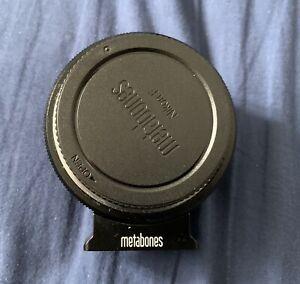 METABONES Speed Booster XL 0,71 Nikon G Vers Micro 4/3