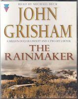 The Rainmaker John Grisham 4 Cassette Audio Book Abridged Legal Thriller