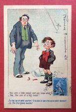 CPSM. Illustrateur MICH. 1921. CES COQUINS D'ENFANTS. Vaurien. Rascal. N° 7006.
