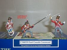 COLLECTORS SHOWCASE CS00559 BRITISH 1ST FOOT GUARDS TOY SOLDIER COMMAND SET