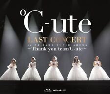 New C-ute Last Concert in Saitama Super Arena Thank you team C-ute Blu-ray Japan
