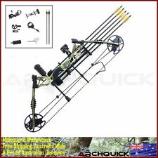 2017 New Compound Bow Archery Hunting Kit Right Hand Target Arrows Camo 30-60lbs