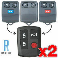 2 x Ford Explorer Escape Transit Ute/Wagon Car Remote Control 3 Button Keypad