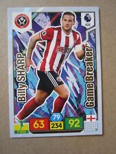 Panini PL 2019/20 - Interruptor de juego tarjeta Billy Sharp de Sheffield United