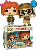 NEW Funko POP CARL & ELLIE Up 2 Pack With Box Vinyl Action Figure Toys For Kids