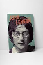 "John Lennon Stretched Canvas Print 30""x20"""