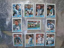 DETROIT LIONS 4 TEAM SETS 51 CARDS 1988 Topp 1991 Pacific 1992 Topps 1992 U DECK