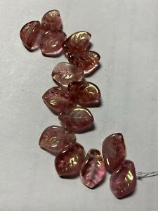 Czech Flowers Beads and Czech Leaf Beads  ***** UPICK****