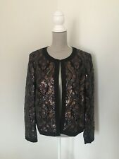 BNWT Sequin Trophy Blazer Jacket M&S Special Wedding Occasion 18 16 RRP £89