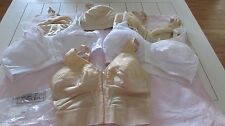 5 Mastectomy Bras 40D Front Open Pocketed for Prosthesis  Brand New With Tags