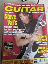 Guitar Techniques magazine and CD January 1998