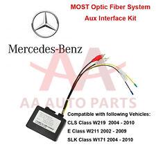 Mercedes Benz CLS W219  E W211  SLK W171 Class MOST Aux Interface Kit