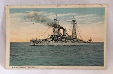 "Vintage U.S. Battleship ""Mississippi"" Postcard Colorized"