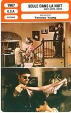 FICHE CINEMA : SEULE DANS LA NUIT - Hepburn,Arkin,Young 1967 Wait Until Dark