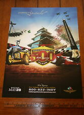 2006 INDIANAPOLIS 500 INDY EVENT POSTER INDY CAR 24 X 20 FULL COLOR NEW PAGODA