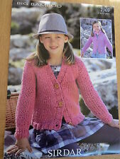 Sirdar Big Bamboo - Pattern No. 2369 - Cardigans - 2 to 13 Years