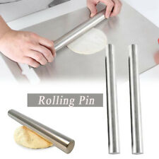 Professional Rolling Pin for Baking Stainless Steel Lightweight Easy to Roll